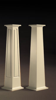 Poly classic craftsman columns Craftsman columns